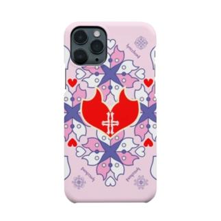 浪漫花-QUEEN-/桜/スマホケース Smartphone cases