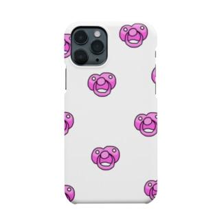 おしゃぶり(ぴんく) Smartphone cases
