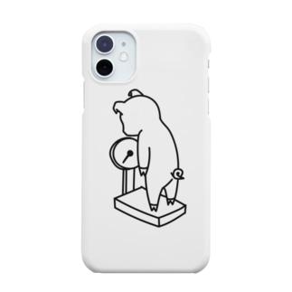 体重を気にするブタ Smartphone cases