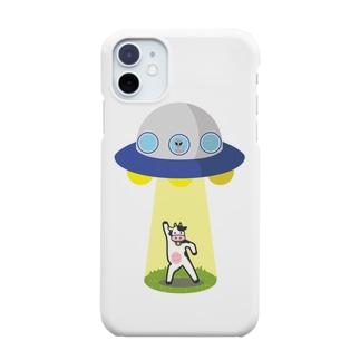 おっちょこちょいな牛ちゃん Smartphone cases