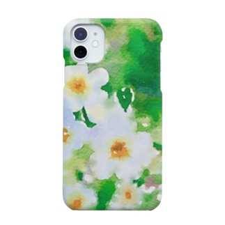 水色小花 Smartphone cases