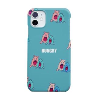 にんにんのhungry monster Smartphone cases