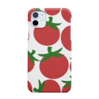 ぎっしりトマト Smartphone cases
