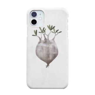 パキポディウムグラキリス現地球抜き苗 Smartphone cases