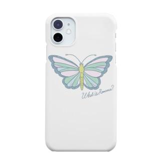 ロマンスなチョウチョ Smartphone cases