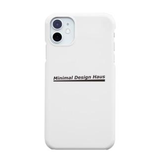 Minimal Design Hausロゴ Smartphone cases