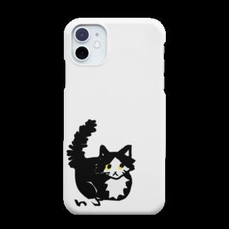 猫(gnp)のはちわれ猫のおすまし Smartphone cases