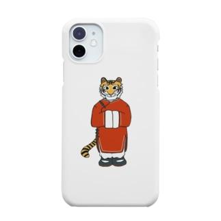 トラ×チャイナ服 Smartphone cases