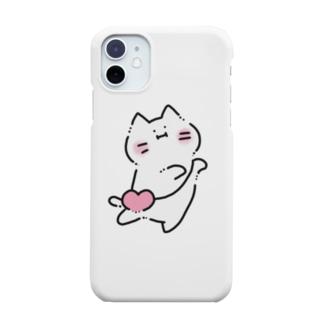 ゆきネコチャン(♥カバン) Smartphone cases