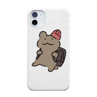 くまヒコ(リュック) Smartphone cases