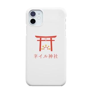 ネイル神社 授与品 Smartphone cases