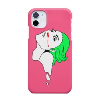 iPhoneケース_PINK Smartphone cases
