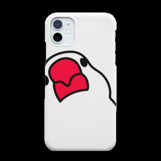 文鳥'sの文鳥スマホケース iPhone11 Smartphone cases