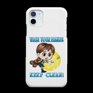 堀越ヨッシーのお店のWASH YOUR HANDS Smartphone cases