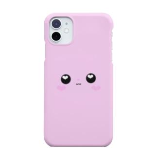 ありいぴょん【iPhoneケース顔ver.】 Smartphone cases