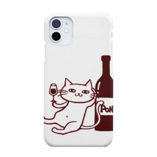 ワインスタンドポンのポンちゃん Smartphone cases
