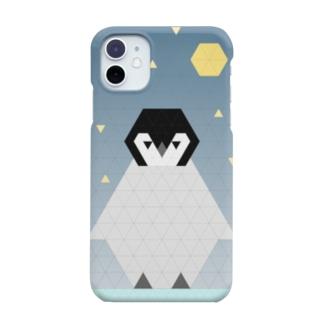 T.コウテイペンギンのひな Smartphone cases