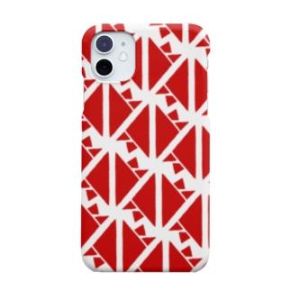 サーヴィエ行進曲 紅 Smartphone cases