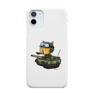 hitohana*+α《ヒトハナ+α》のネコマル式戦車 Smartphone cases