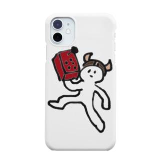 アケコンを持ってカチコミに行く人 Smartphone cases