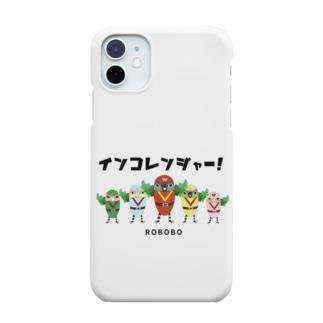 ROBOBO「インコレンジャー」 Smartphone cases
