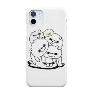塊(かたまり) Smartphone cases
