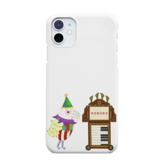 ROBOBO 紙芝居屋さん Smartphone cases