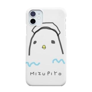 水風呂に浸かるぴよ🐤 Smartphone cases