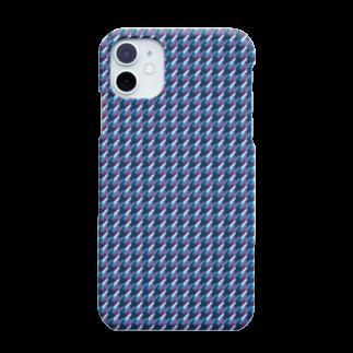 banzai-clothingの千鳥格子 紺色 ( iPhone 11 専用 ) Smartphone cases