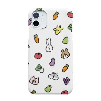 うささんズとお野菜 Smartphone cases