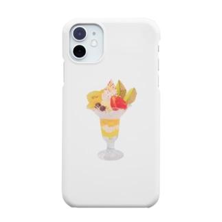 フルーツパフェなアイテム Smartphone cases