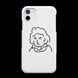Aliviostaのベートーベン イラスト 3 Smartphone cases