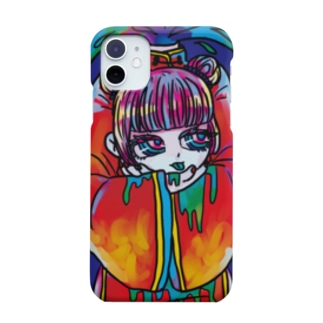 Bad girl's「dead」 Smartphone cases