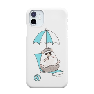 SUMMER(ハリネズミ) Smartphone cases