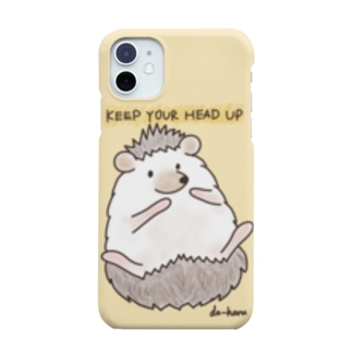 KEEP YOUR HEAD UP(ハリネズミ) Smartphone cases