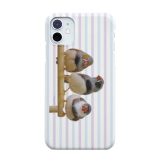 3羽キンカ(すとらいぷ) Smartphone cases