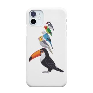 ことり ブレーメンの音楽隊 Smartphone cases
