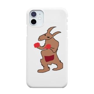 見ず書いたカンガルー Smartphone cases