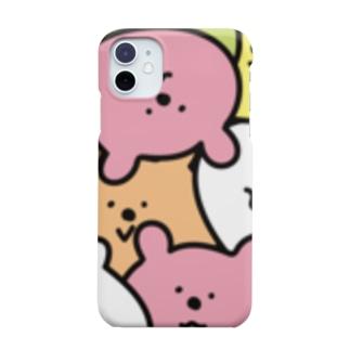 ギューギュークマ レクタングルsp Smartphone cases