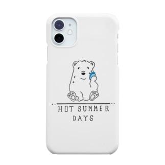 汗っかきベアー Smartphone cases