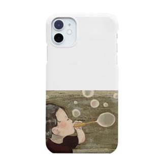 しゃぼん玉ふきたい Smartphone cases