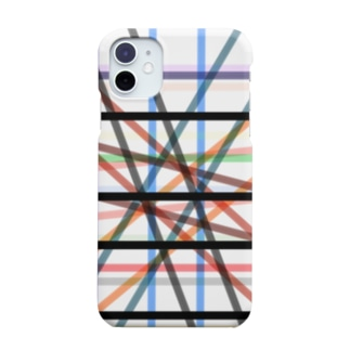 チェックB Smartphone cases