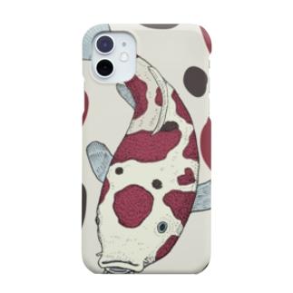 錦鯉さん Smartphone cases