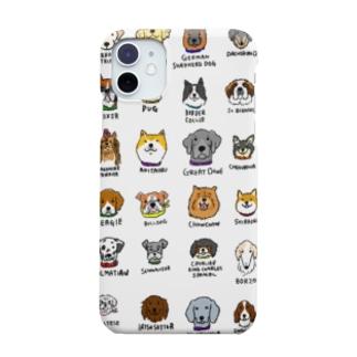 犬たくさん Smartphone cases