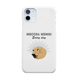MECCHA NEMUI きつね Smartphone cases