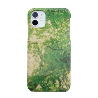 iPhone11 森 Smartphone cases