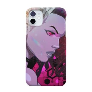 サイバースパイダー🕷(iPhone11用) Smartphone cases