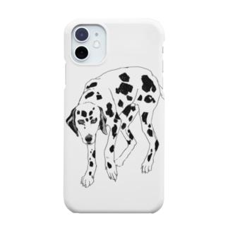 ダルメシアンモデル Smartphone cases
