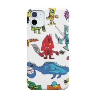赤鬼さんと愉快な仲間 Smartphone cases