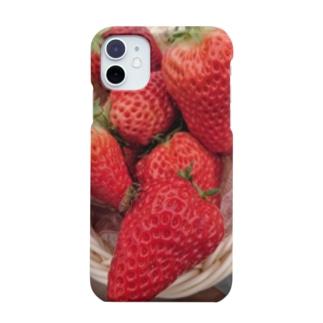 イチゴとミツバチ Smartphone cases